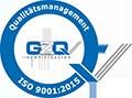 Qualitätsmanagement GZQ DIN EN ISO 9001:2008 zertifiziert